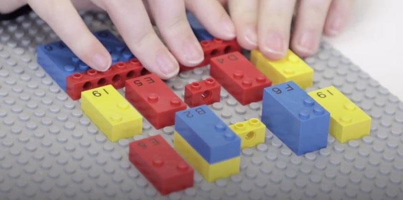 LEGO Braille Bricks, juguetes especiales para niños invidentes