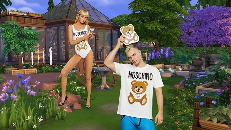 Moschino x Sims Freezer Bunny