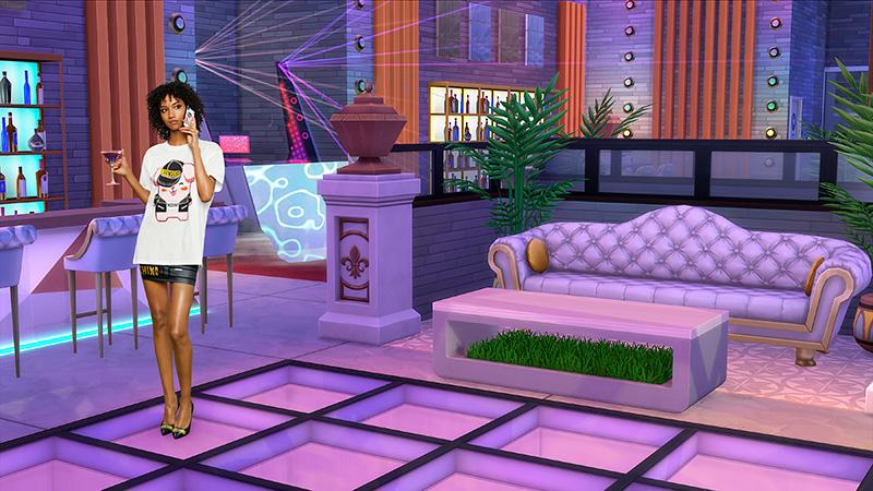 Moschino x Sims coleccion