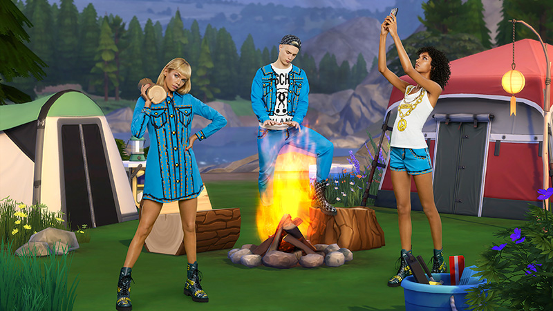 Moschino x Sims jeans