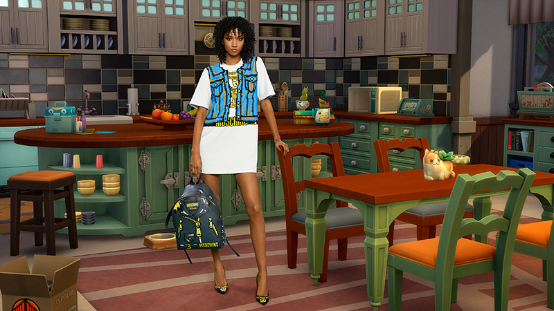 Moschino x Sims playera