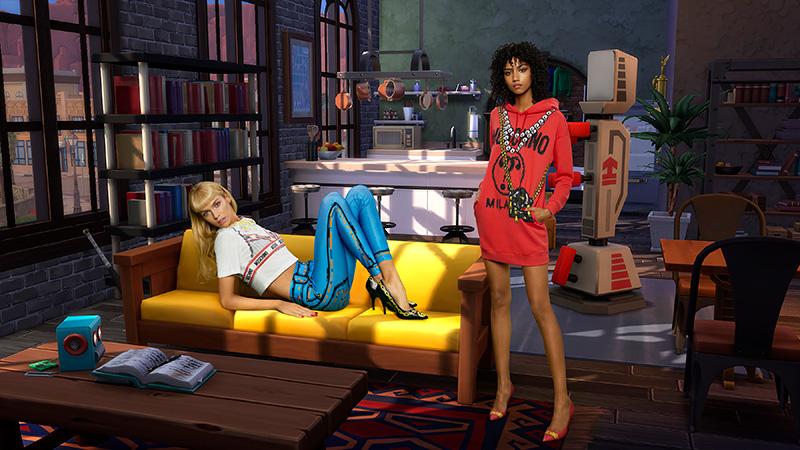 Moschino x Sims pantalon