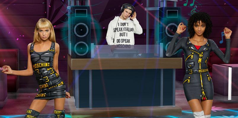 Moschino incluirá a Los Sims en su nueva colección