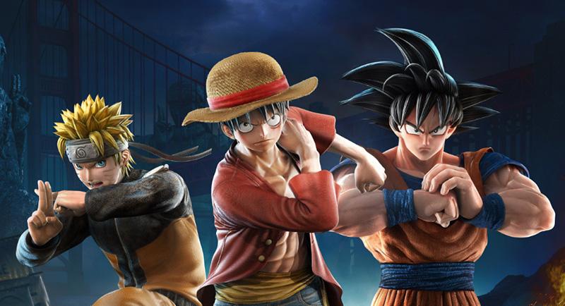 Personajes DLC Jump Force 2019