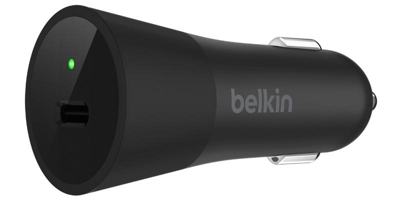 El Belkin USB-C Car Charger ofrece carga rápida a tu iPhone