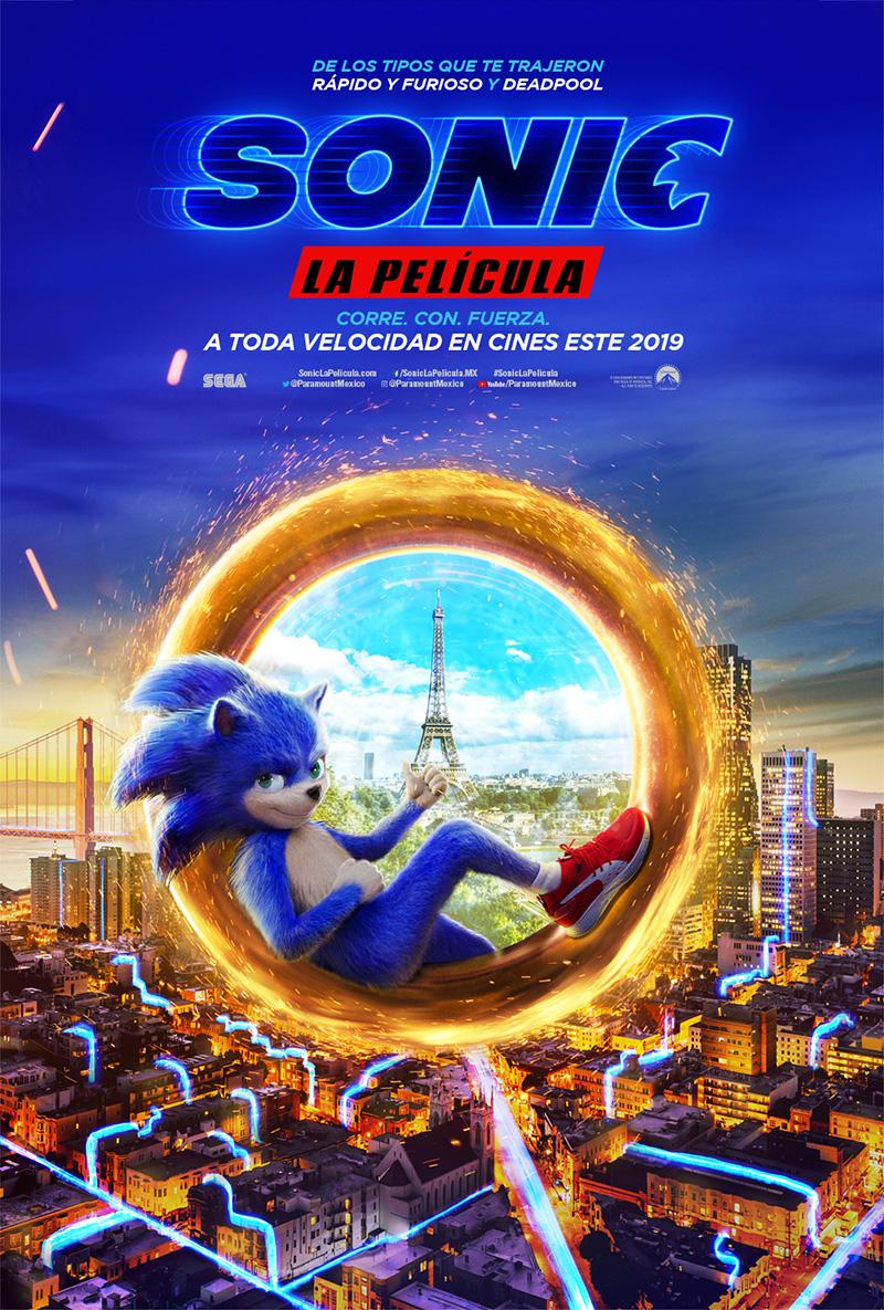 Sonic La pelicula poster 1
