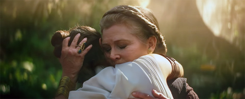 Star Wars: Episodio IX The Rise of Skywalker Leia