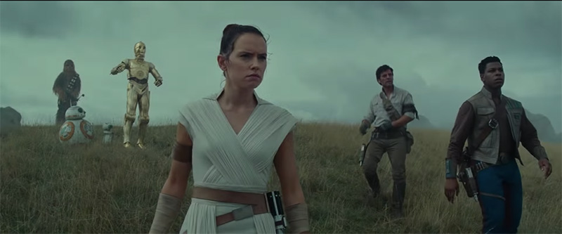 Star Wars: Episodio IX The Rise of Skywalker team