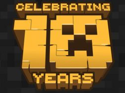 10 aniversario Minecraft