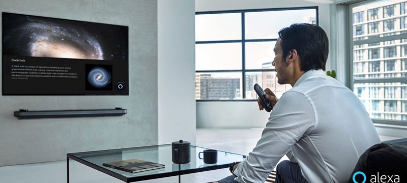 Alexa televisores LG AI ThinQ 2019