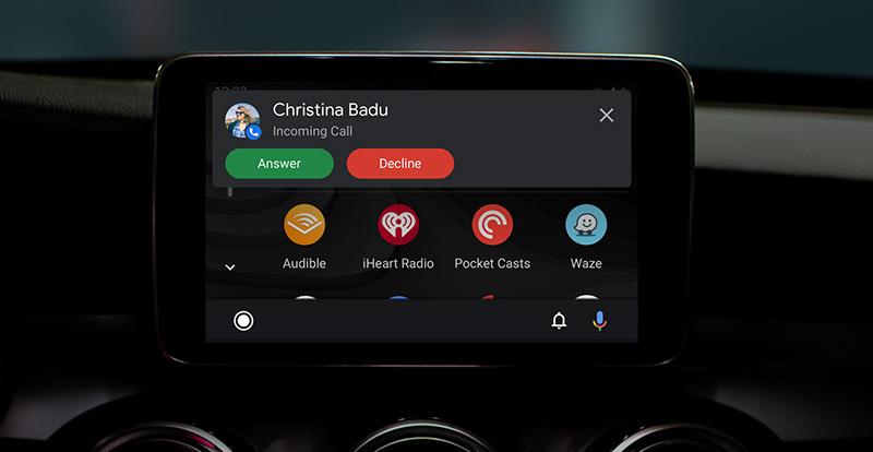Android Auto interfaz 2019 llamadas