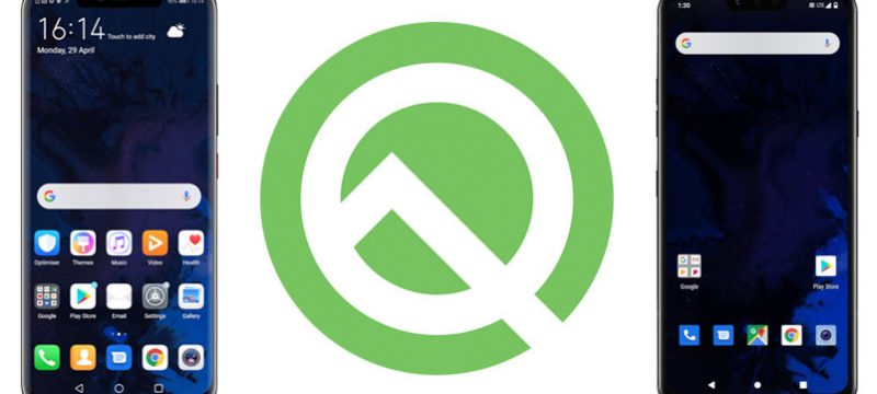 Android Q Beta 3 smartphones compatibles