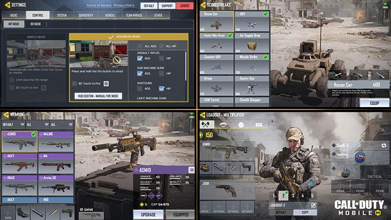 Call of Duty Mobile configuracion
