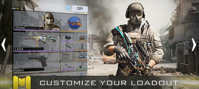 Call of Duty Mobile personaje
