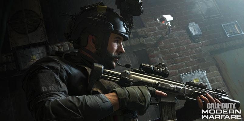 Un completamente nuevo Call of Duty: Modern Warfare llegará en octubre