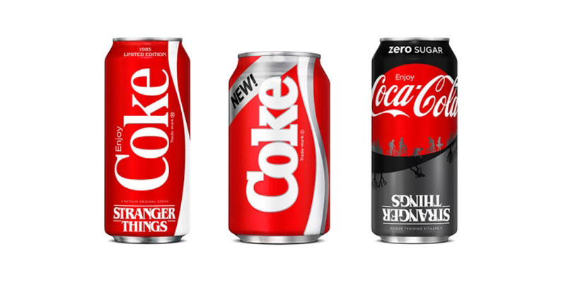Coca-Cola New Coke Stranger Things Edicion Especial