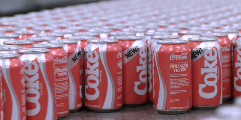 Stranger Things y Coca-Cola regresarán el sabor de New Coke
