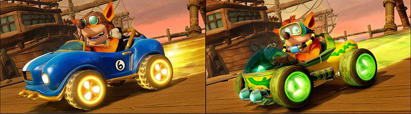 Crash Team Racing Nitro Fueled personalizacion kart