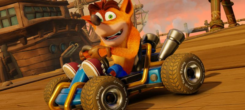 Crash Team Racing Nitro Fueled personalizacion