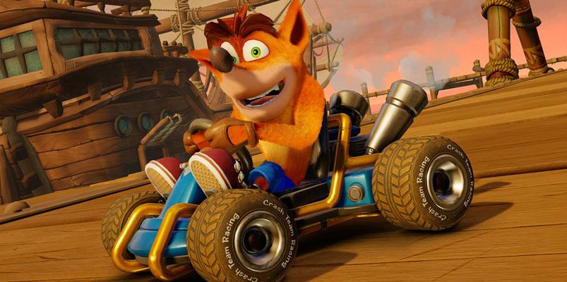 En Crash Team Racing Nitro-Fueled podrás personalizarlo a tu gusto