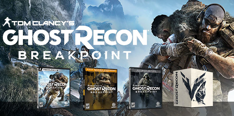 Así son las ediciones de Tom Clancy's Ghost Recon Breakpoint