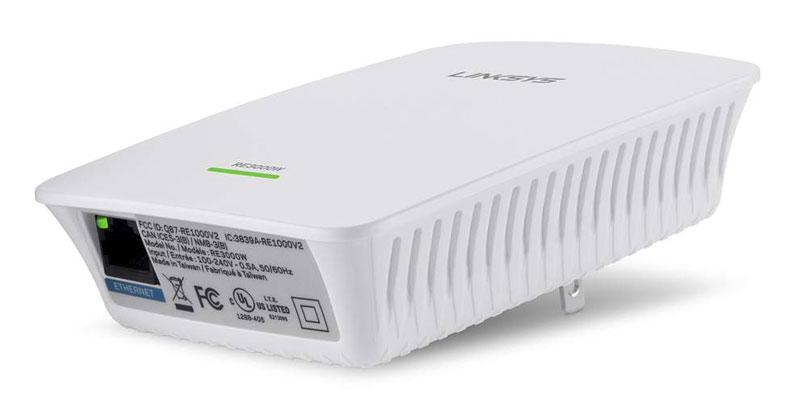 Extensor Wi-Fi Linksys RE3000W