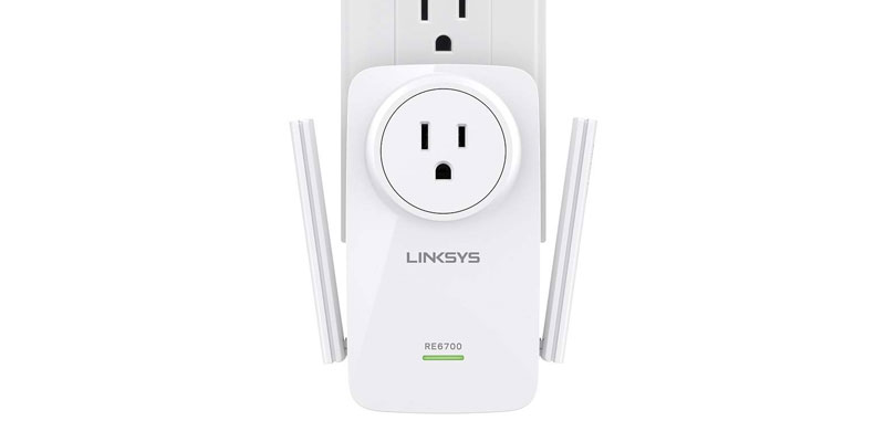 Extensor Wi-Fi Linksys RE6700