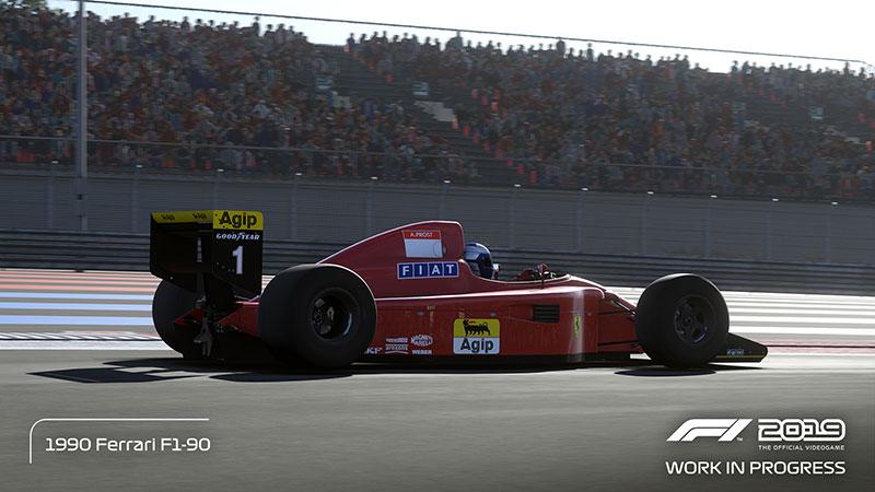 F1 2019 Ferrari 1990