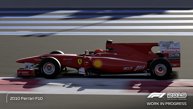 F1 2019 Ferrari 2010