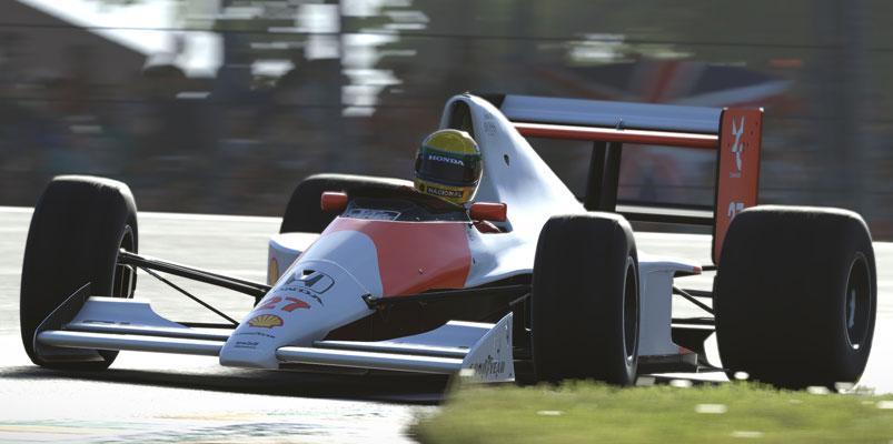F1 2019 muestra la rivalidad entre Ayrton Senna y Alain Prost