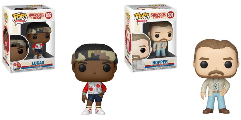 Funko Pop Lucas Funko Pop Hooper