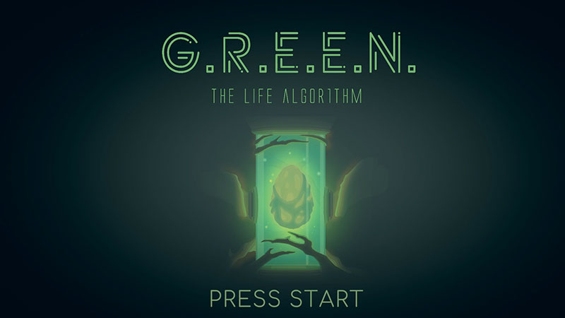 GREEN The life Algorithm start