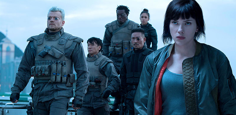 Ghost in the Shell Netflix junio 2019