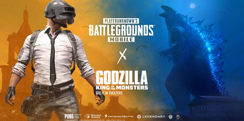 Godzilla: King of the Monsters tendrá evento en PUBG Mobile