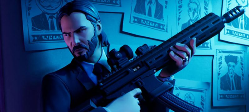 John Wick Fortnite MTL