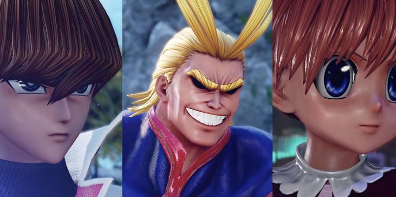 Los tres nuevos peleadores que se suman a Jump Force