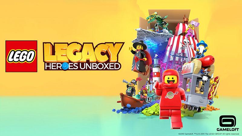LEGO Legacy Heroes Unboxed anuncio