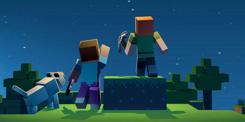 Minecraft 10 aniversario