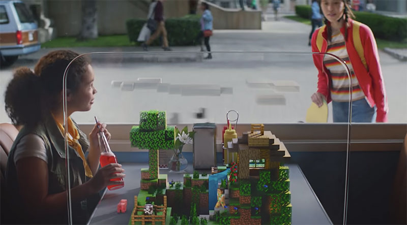 Minecraft Earth maqueta