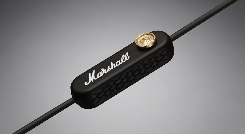 Minor II Bluetooth Marshall Headphones control