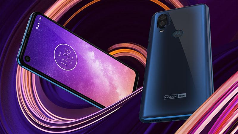 Motorola One Vision colores