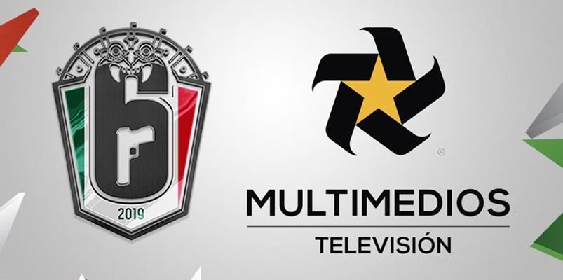 Multimedios TV tendrá el Campeonato Mexicano de Rainbow Six