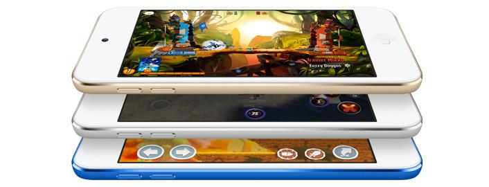 Nuevo iPod touch juegos