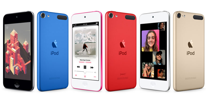 Apple presenta el nuevo iPod touch con chip A10 Fusion