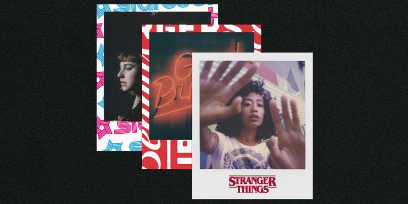 Polaroid Originals OneStep 2 Stranger Things Hawkins marcos