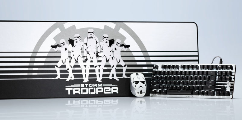 Razer se une al lado oscuro y lanza accesorios de los Stormtrooper