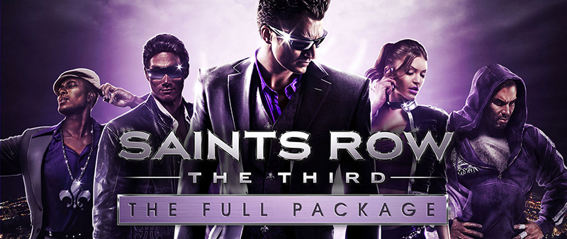 Saints Row The Third The Full Package logo