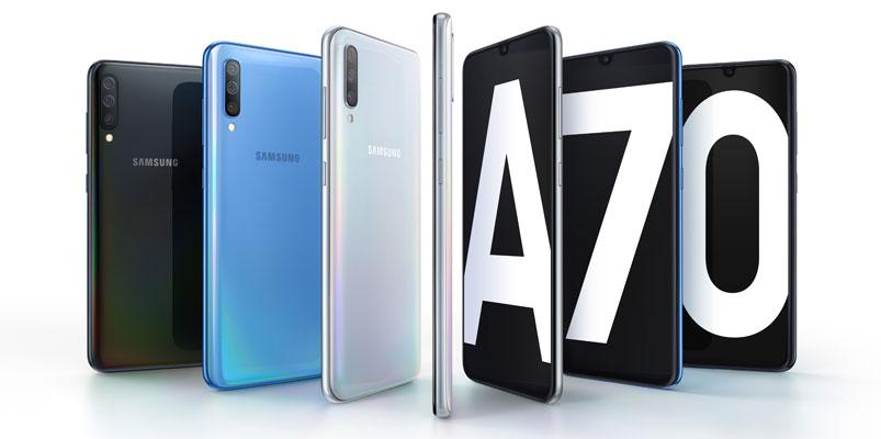 Samsung Galaxy A70 llega a Telcel, AT&T y Movistar, checa su precio