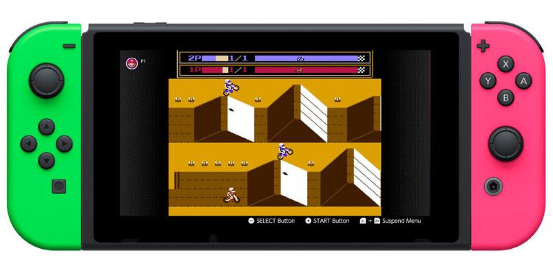 VS Excitebike Nintendo Switch
