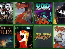 Xbox Game Pass mayo junio 2019